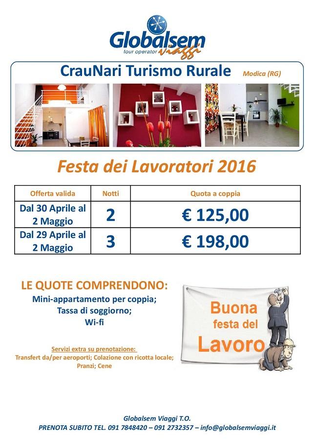 1 Maggio 2016 Festa Del Lavoratore Craunari Modica Ragusa