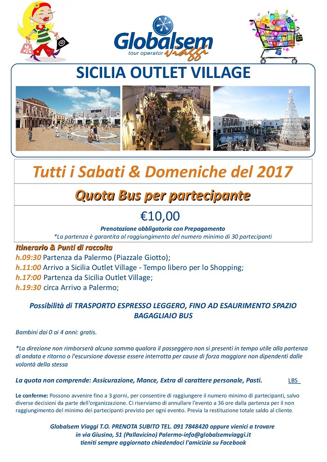 sicilia outlet village 2017 pullman