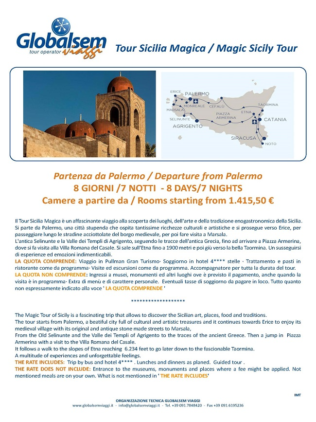 magic sicily tour from palermo